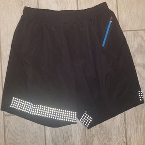 Lululemon mens activewear running shorts size M